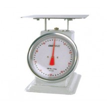 Crestware SCA10100 Heavy Duty Receiving Scale 100 lb. x 4 oz.