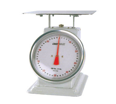Crestware SCA10200 Heavy Duty Receiving Scale 200 lb. x 8 oz.