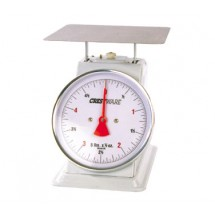 Crestware SCA602R Heavy Duty Scale 2 lb. x 0.25 oz.