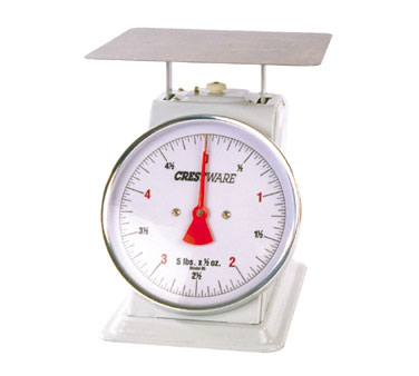 Crestware SCA602R 2 lb. Portion Control Scale with Rotating 6