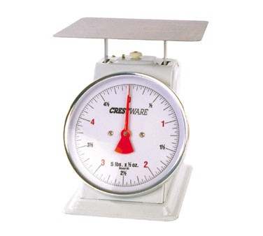 Crestware SCA625R Heavy Duty Scale 25 lb. x 0.25 oz.