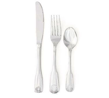 Crestware SHL206 Extra Heavy Weight Salad Fork with Mirror Polished Finish