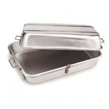 "Crestware SRPL Strapped Roasting Pan with 6 Lugs 26"" x 18"""