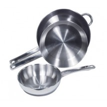 Crestware SSFRY09 Induction Efficient Stainless Steel Fry Pan 9""