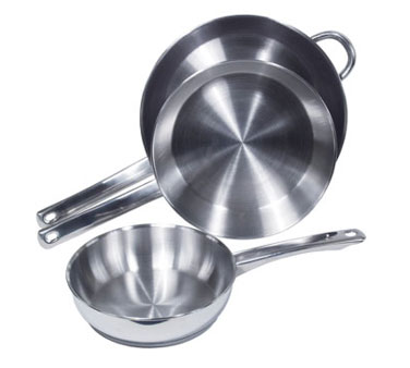 Crestware SSFRY11 Induction Efficient Fry Pan 11""