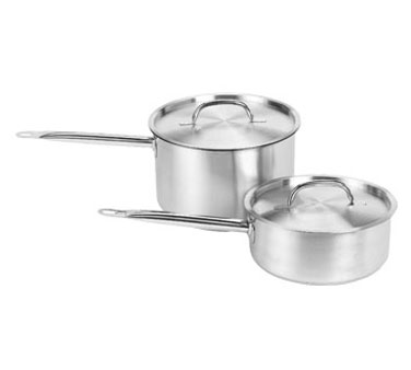 Crestware SSSAU3 Induction Saute Pan with Cover 3 Qt.