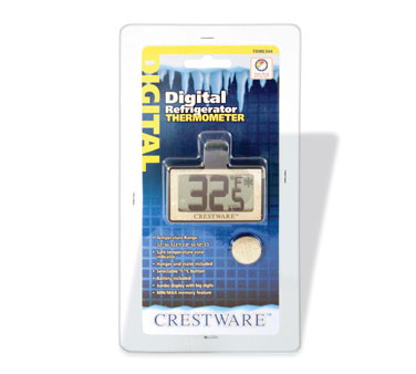Crestware TRME344 Digital Refrigerator Thermometer