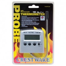 Crestware TRMPROBE Digital Meat Thermocouple Thermometer