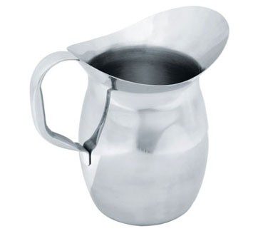 Crestware WBP2 Stainless Steel Bell Pitcher 2 Qt.