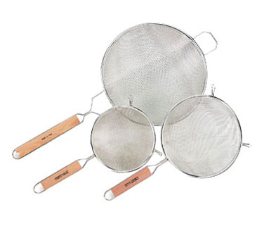 WHSSF8 Fine Single Mesh Strainer 8""