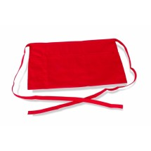 Crestware WR Three-Pocket Waist Apron, Red