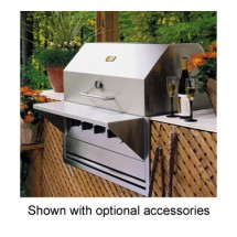 Crown Verity BI-36NG Built-In Outdoor Charbroiler 5 Burners