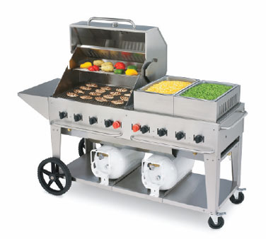 Crown Verity CCB-60-LP Mobile Club Grill