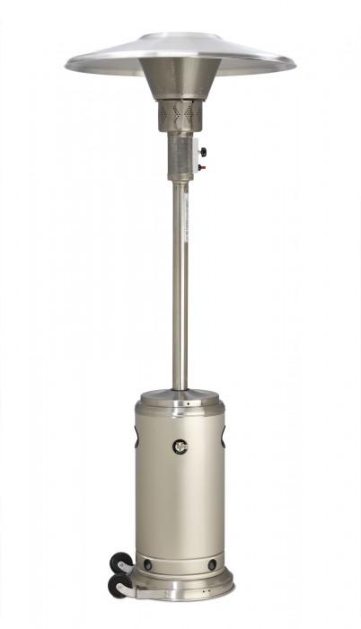 Crown Verity CV-2650-SS Stainless Steel Patio Heater