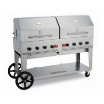 Crown Verity MCB-60LP Mobile Outdoor Charbroiler 8 Burners