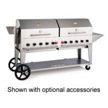 Crown Verity MCB-72LP Mobile Outdoor Charbroiler 10 Burners