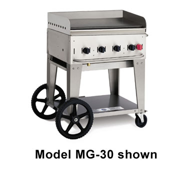 Crown Verity MG-30 Mobile Outdoor Griddle 4 Burners