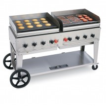Crown Verity MG-60 Mobile Outdoor Griddle 8 Burners