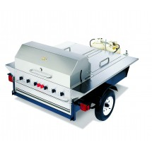 Crown Verity TG-1 Tailgate Grill With Beverage Compartments