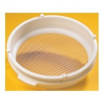 "Custom 39301 Flour Sieve #12 with Mesh Screen 17"" x 4"""