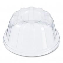 Dart D-T Sundae/Cold Cup Lids, Clear for 5-32 oz Cups, 1000/Carton