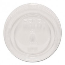 Dart Plastic Lids for Sauce/Side Dipping Containers, 5.5   oz., 1000/Carton