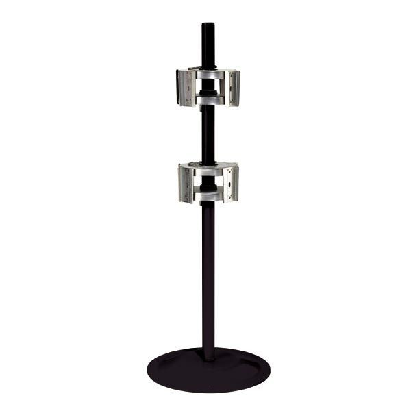 Dispense-Rite ARS-4 Revolving Countertop Cup / Lid Dispensing Stand
