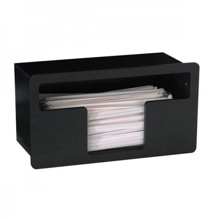 Dispense-Rite FMTS-1BT 1-Compartment Straw Dispenser