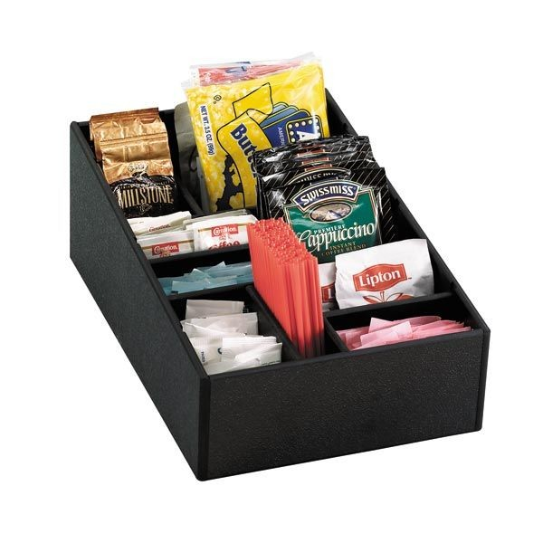 Dispense-Rite MICRO-1 9-Compartment  Condiment Organizer