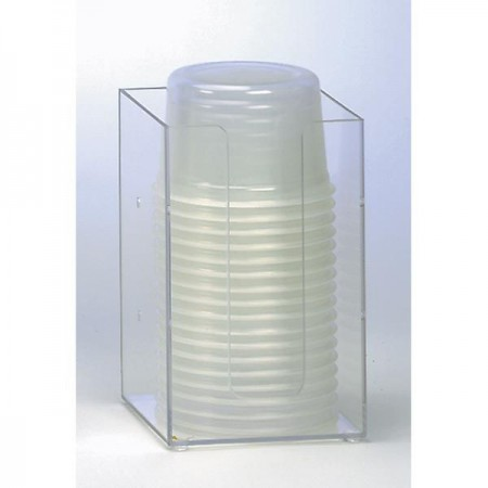 "Dispense-Rite MLD-2 5"" Beverage Cup and Lid Organizers 6-44 oz."