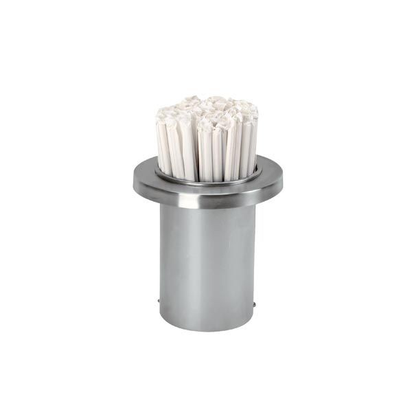 Dispense-Rite TSD-1C Stainless Steel Straw Holder