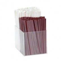 Dispense-Rite VCO-INS 2 Section Straw and Stir Stick Insert