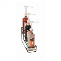 Dispense-Rite WR-BOTL-3 3 Section Bottle Organizer / Holder
