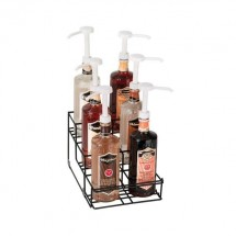 Dispense-Rite WR-BOTL-6 6 Section Bottle Organizer / Holder