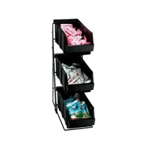 Dispense-Rite WR-COND-3 3 Compartment Condiment Organizer