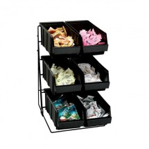 Dispense-Rite WR-COND-6 6 Compartment Condiment Organizer