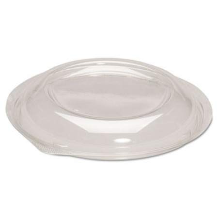 Dome Lids for Silhouette Plastic Bowls, Clear, For 24-32oz Bowls, 200/Ct