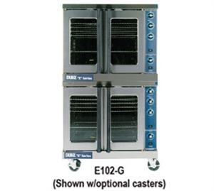 Duke E102-G Gas Double Deck Convection Oven