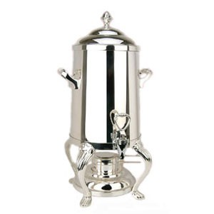 Eastern Tabletop 3203QA-SS Queen Anne Hotel Grade Stainless Steel Coffee Urn 3 Gallon