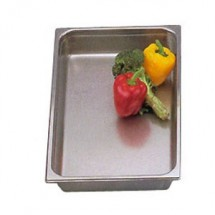 Eastern Tabletop 1408DF Dripless Chafing Dish Inset Water Pan 8 Qt.