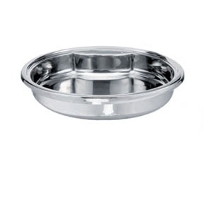 Eastern Tabletop 1438 Round Inset Food Pan for Induction Chafer 6 Qt.