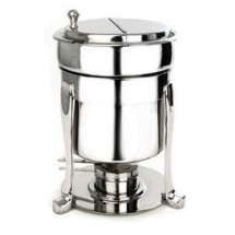 Eastern Tabletop 2107FS Silverplated Marmite Soup Stand 7 Qt.