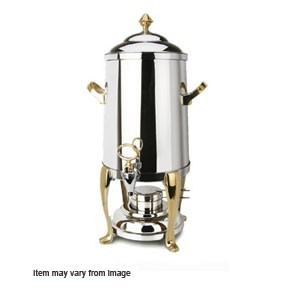 Eastern Tabletop 2201QA Queen Anne Silverplated Hotel Grade Coffee Urn 1-1/2 Gallon