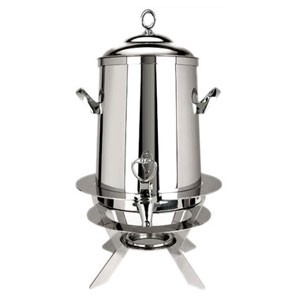Eastern Tabletop 2205-L Luminous Silverplated Hotel Grade Coffee Urn 5 Gallon