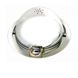 Eastern Tabletop 2808ELD Silverplated Round Drop In Chafer 8 Qt.