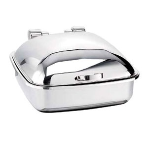 Eastern Tabletop 2904 Silverplated Tabletop Induction Chafer 6 Qt.