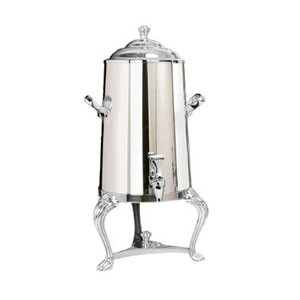 Eastern Tabletop 3001QA-SS Queen Anne Insulated Stainless Steel Coffee Urn 1-1/2 Gallon