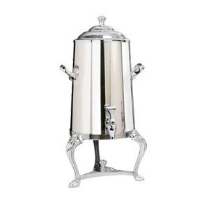 Eastern Tabletop 3003QA-SS Queen Anne Insulated Stainless Steel Coffee Urn 3 Gallon