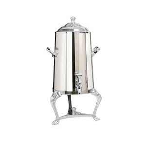 Eastern Tabletop 3005QA-SS Queen Anne Insulated Stainless Steel Coffee Urn 5 Gallon