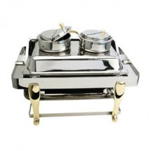 Eastern Tabletop 3103 Stainless Steel Soup Station Inset
